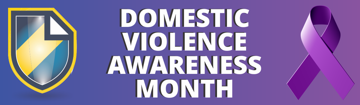 Domestic Violence Month article header