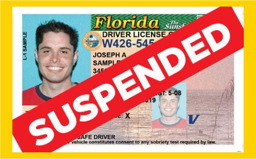 IMAGE Suspended Drivers License
